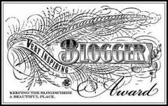 Very Inspiring Blogger Award: I Taketh & I Giveth