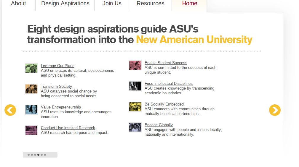 From: http://newamericanuniversity.asu.edu/#4